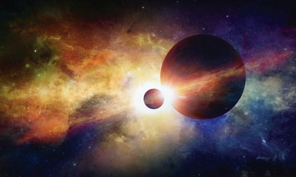 Choque planetario planetas